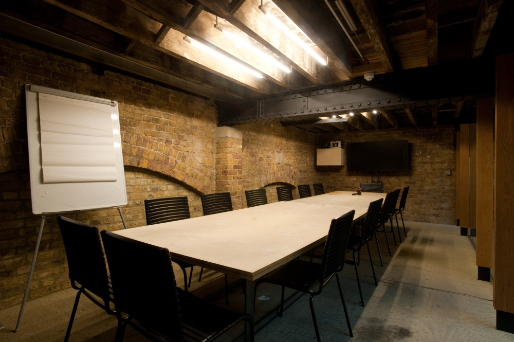 The Boardroom at the Hub, with capacity for larger classes