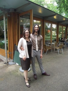 Research Academy summer party - the RA team